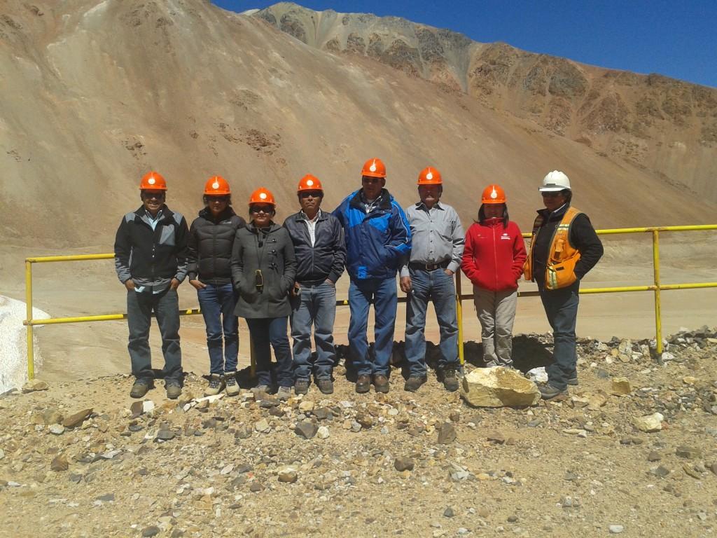 Delegacion JVRH en visita a El Indio
