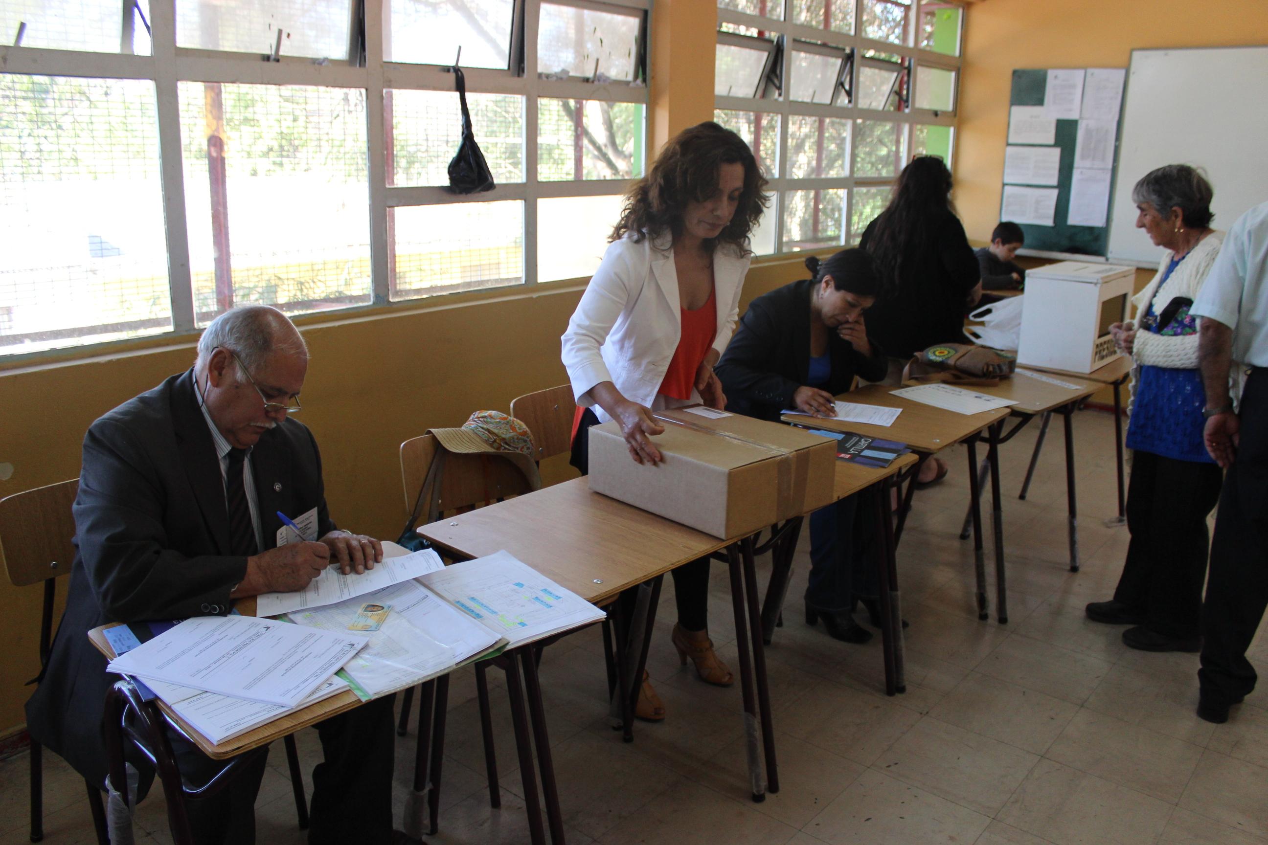 Segunda vuelta presidencial se vive con total normalidad en Vallenar