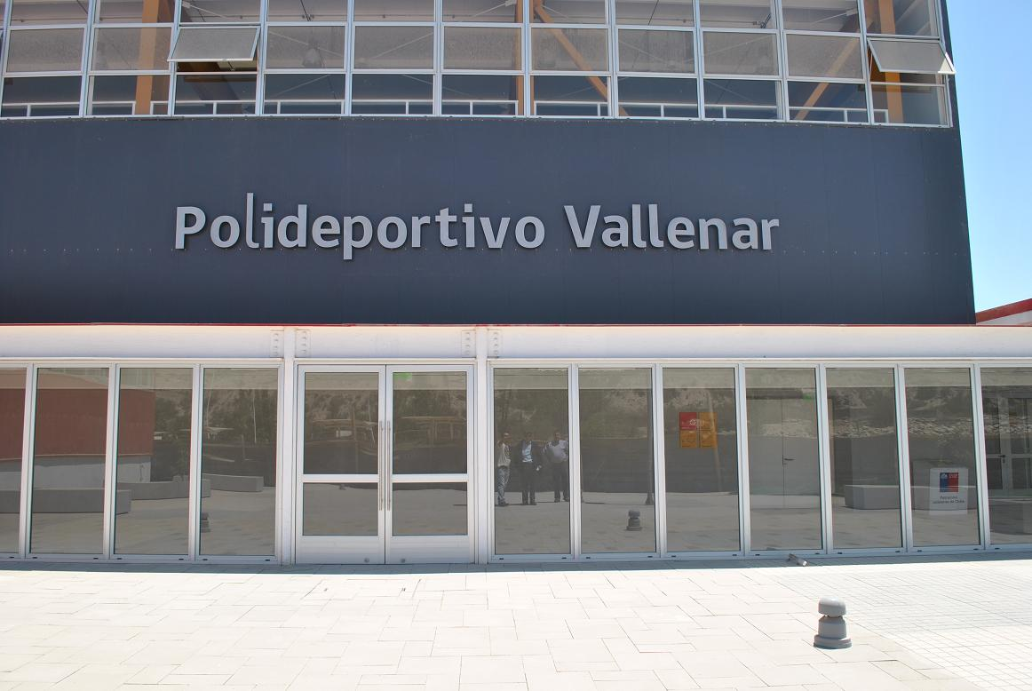 En febrero se inaugurará el nuevo Polideportivo Vallenar