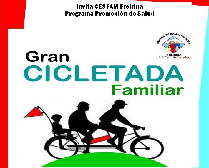 Este viernes se realizará gran Cicletada Familiar en Freirina