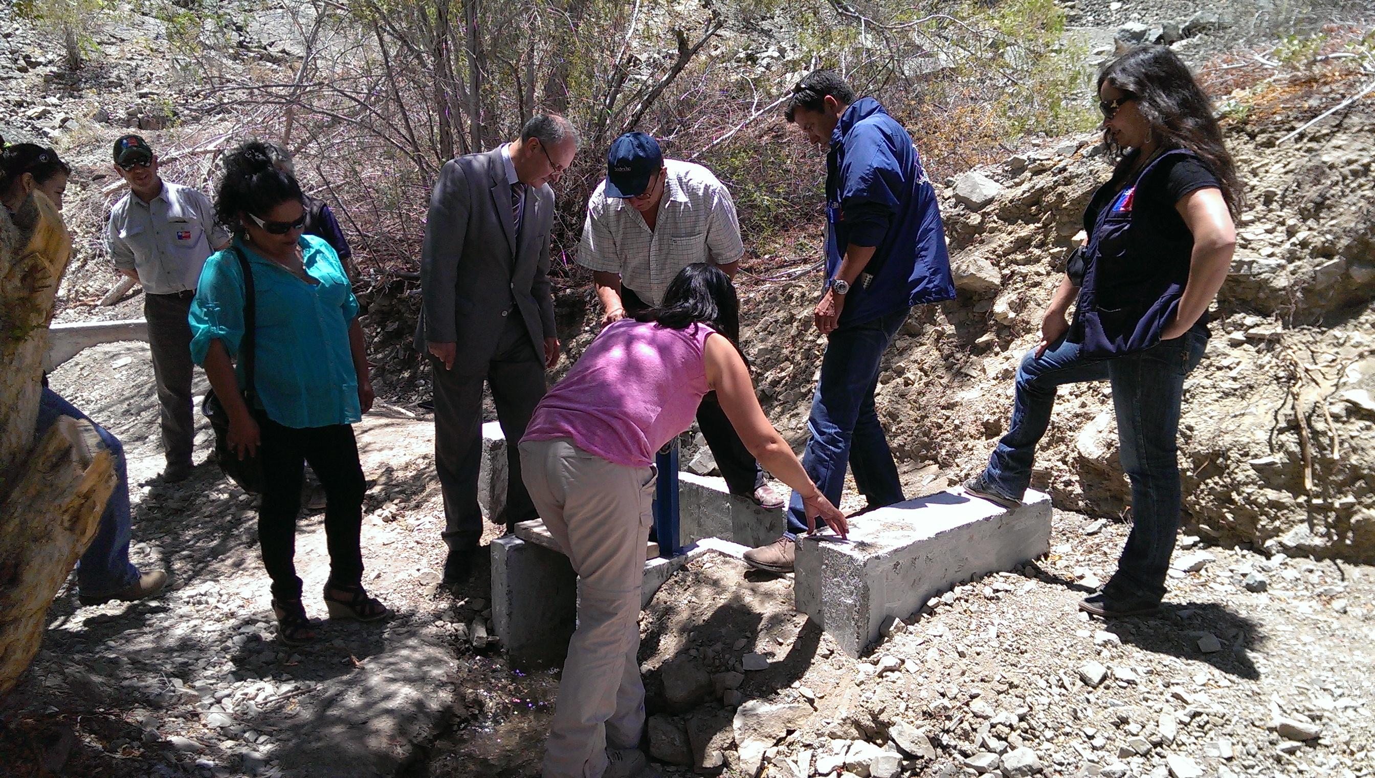 Agricultores de Crucecita en Alto del Carmen podrán ampliar  su eficiencia en riego