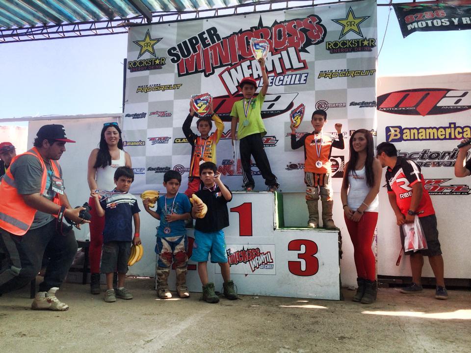Vallenarino de 6 años logra primer lugar en Campeonato Súper Minicross de Chile