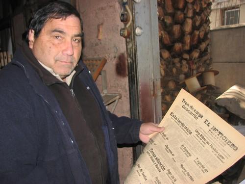 El último diario que tuvo Vallenar: Chibaletes, tipos y tinta con historia