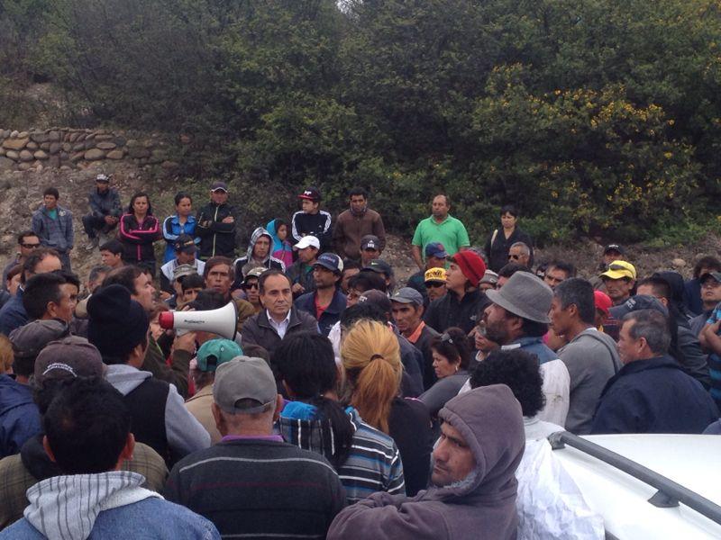 """Robles: """"El Subsecretario de Pesca, Sernapesca y el Gobierno deben cumplir la palabra empeñada con la Mesa de Pesca de Huasco"""""""