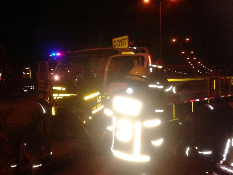 Hombre muere atropellado en ruta 5 al sur de Vallenar