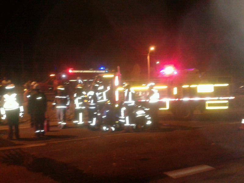 Cuatro lesionados en accidente al sur de Vallenar