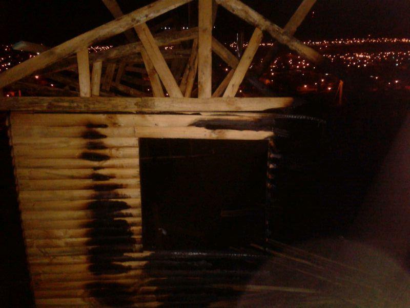 Incendio consume completamente vivienda en Vallenar