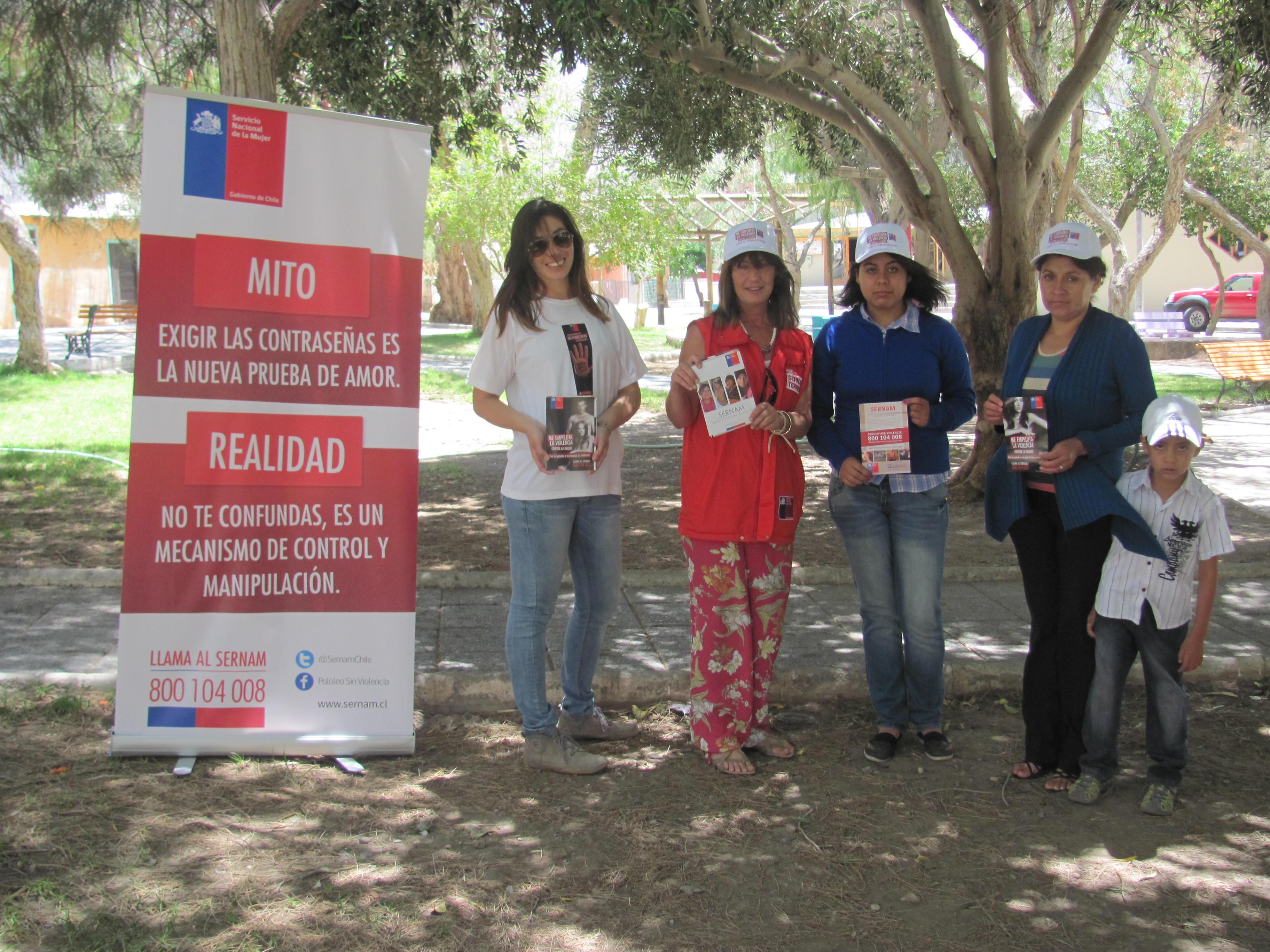 Sernam comienza con intervención urbana en Alto del Carmen campaña comunicacional estival