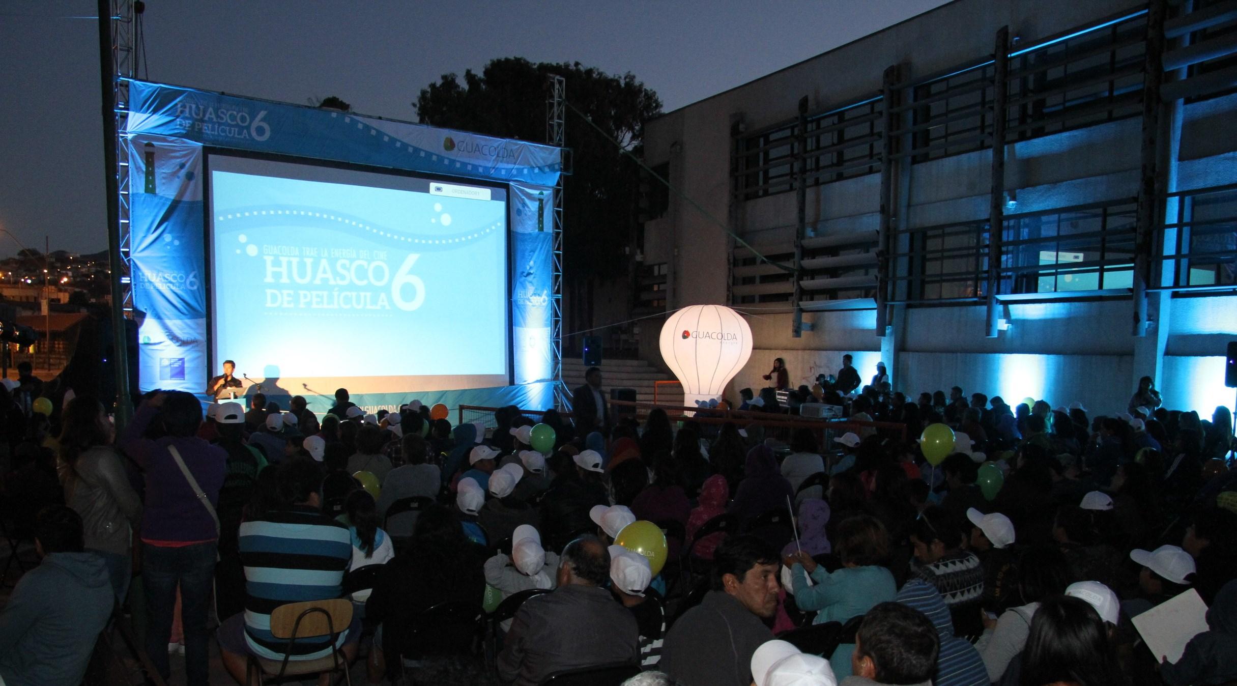 Guacolda y Fundación AES Gener refrescarán las noches de verano con espectacular ciclo de cine gratuito