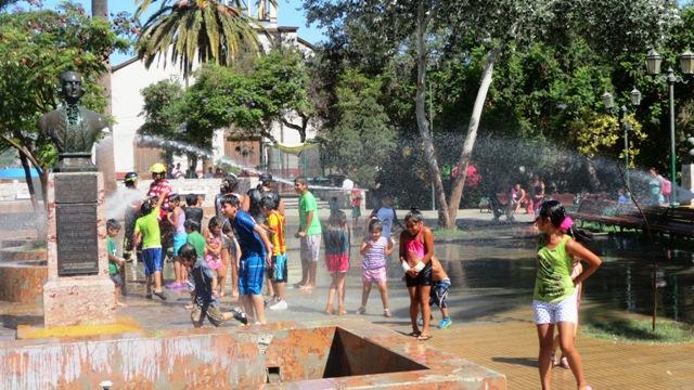 Ya se iniciaron entretenidas fiestas de la challa en Vallenar