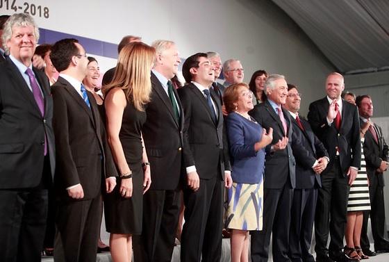 Estos son los 23 ministros del primer gabinete de Michelle Bachelet