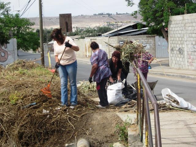 Municipio realiza importante limpieza en Canal Ventanas