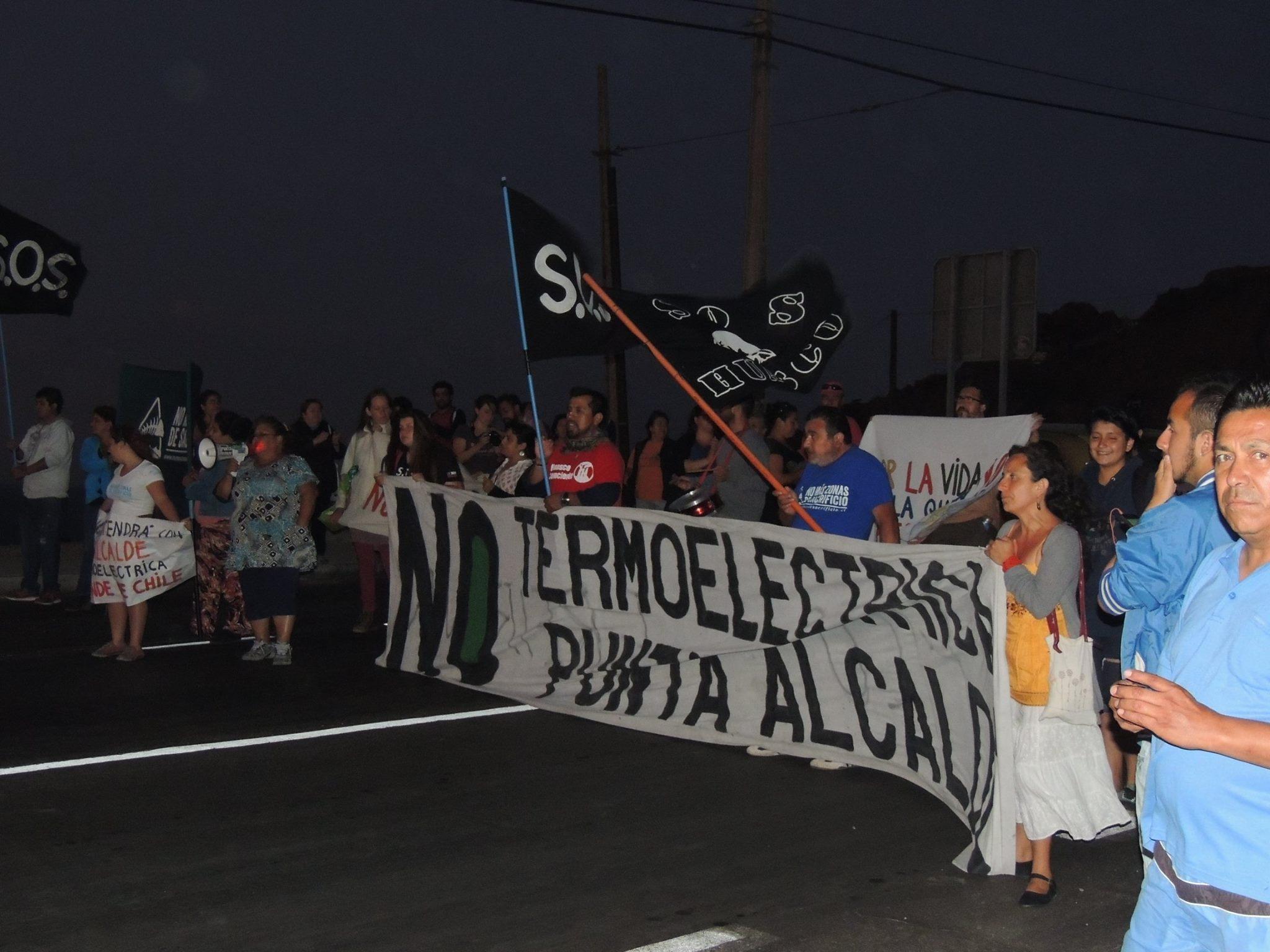 """Vocera Movimiento socio ambiental del Huasco: """"Las termoeléctricas son para la minería. En Huasco tenemos cinco unidades y a 50 kilómetros, Carrizal Bajo no tiene luz"""""""