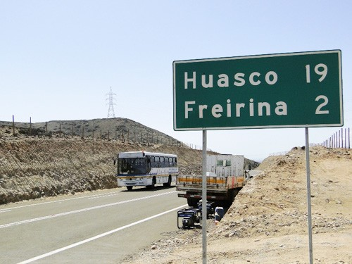 Estudian nueva ruta entre Vallenar y Huasco