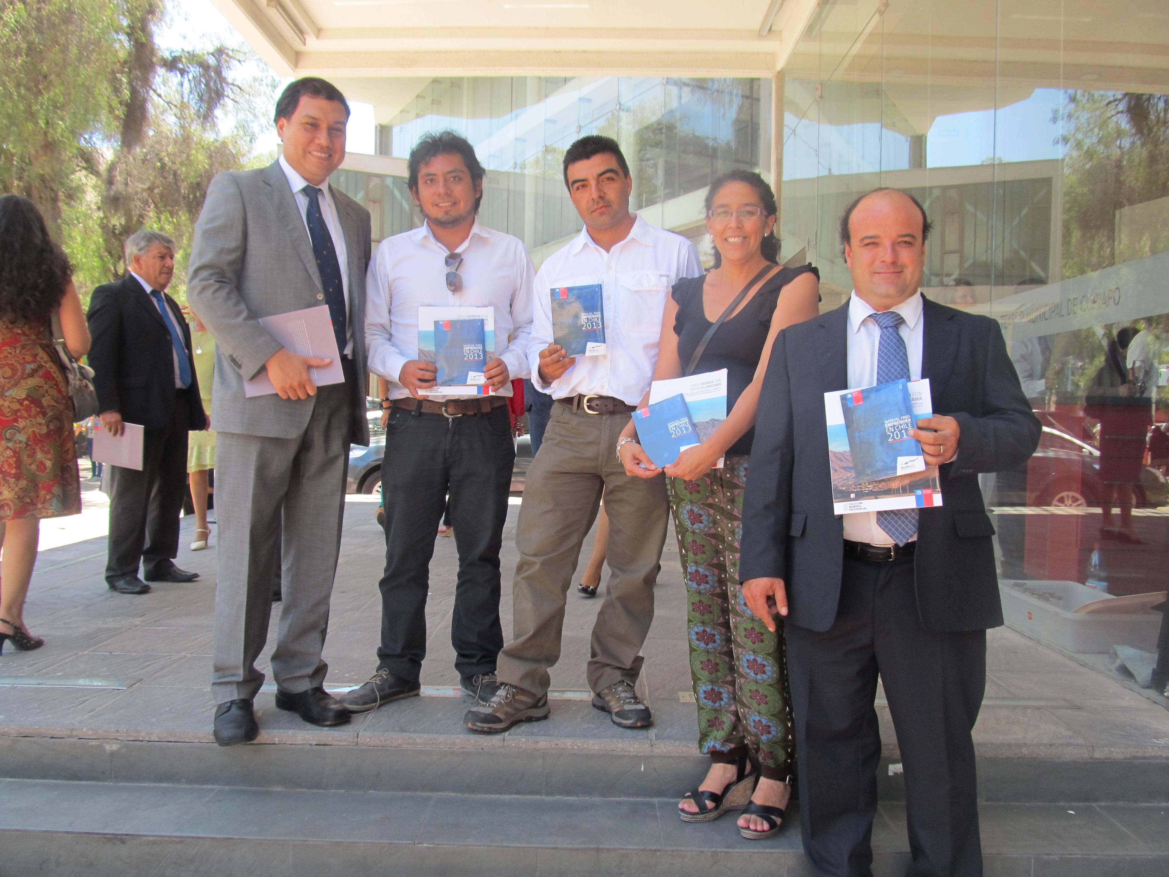 Sercotec Atacama invita a todos a conocer el manual del emprendedor