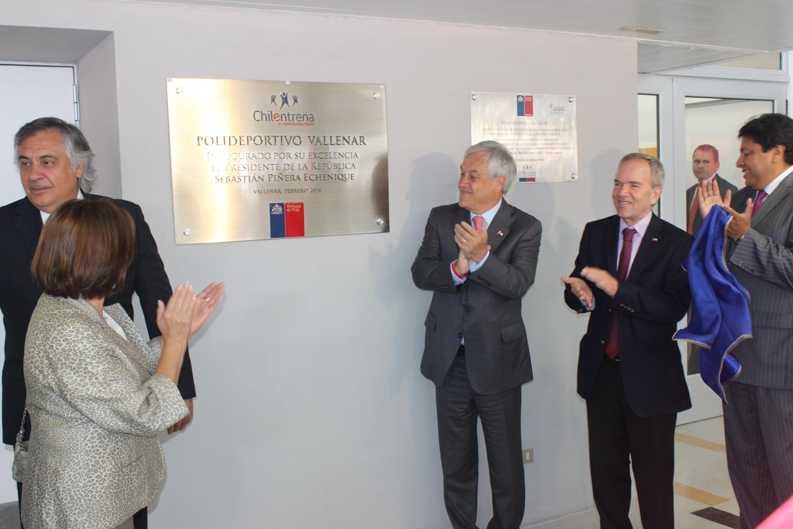 Inauguran Polideportivo en Vallenar