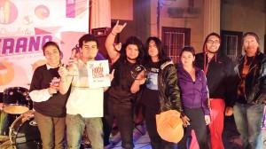 foto cierre campaña premiación primer lugar festival de rock post mortem