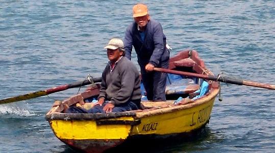 """Pescadores de Huasco sobre Punta Alcalde: """"No estamos sorprendidos con los fallos, un poco inquietos, sí, por la situación"""""""