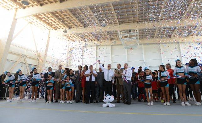 Presidente Piñera llega a inaugurar Polideportivo de Vallenar
