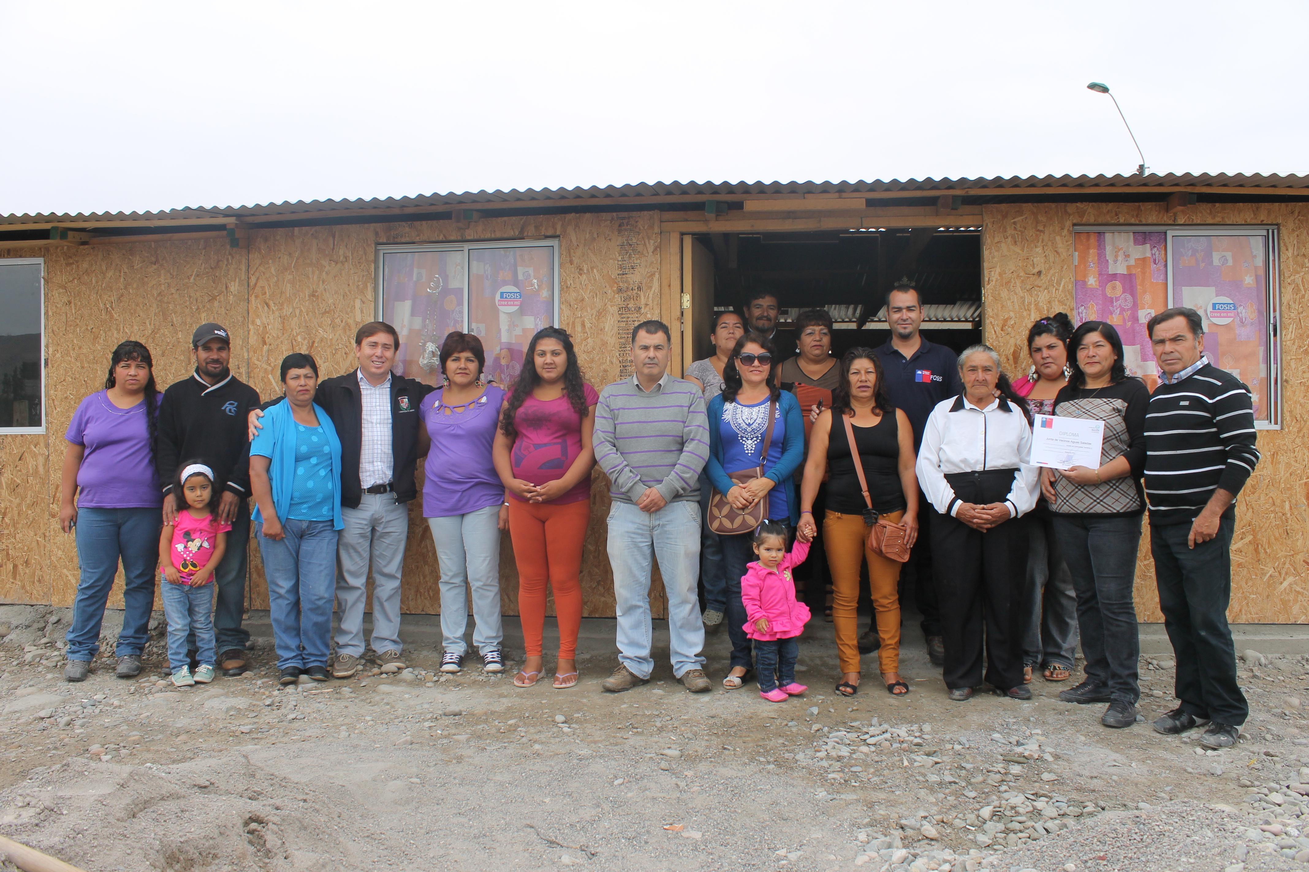 Inauguran nueva sede social para junta de vecinos de Agua Salada en Freirina