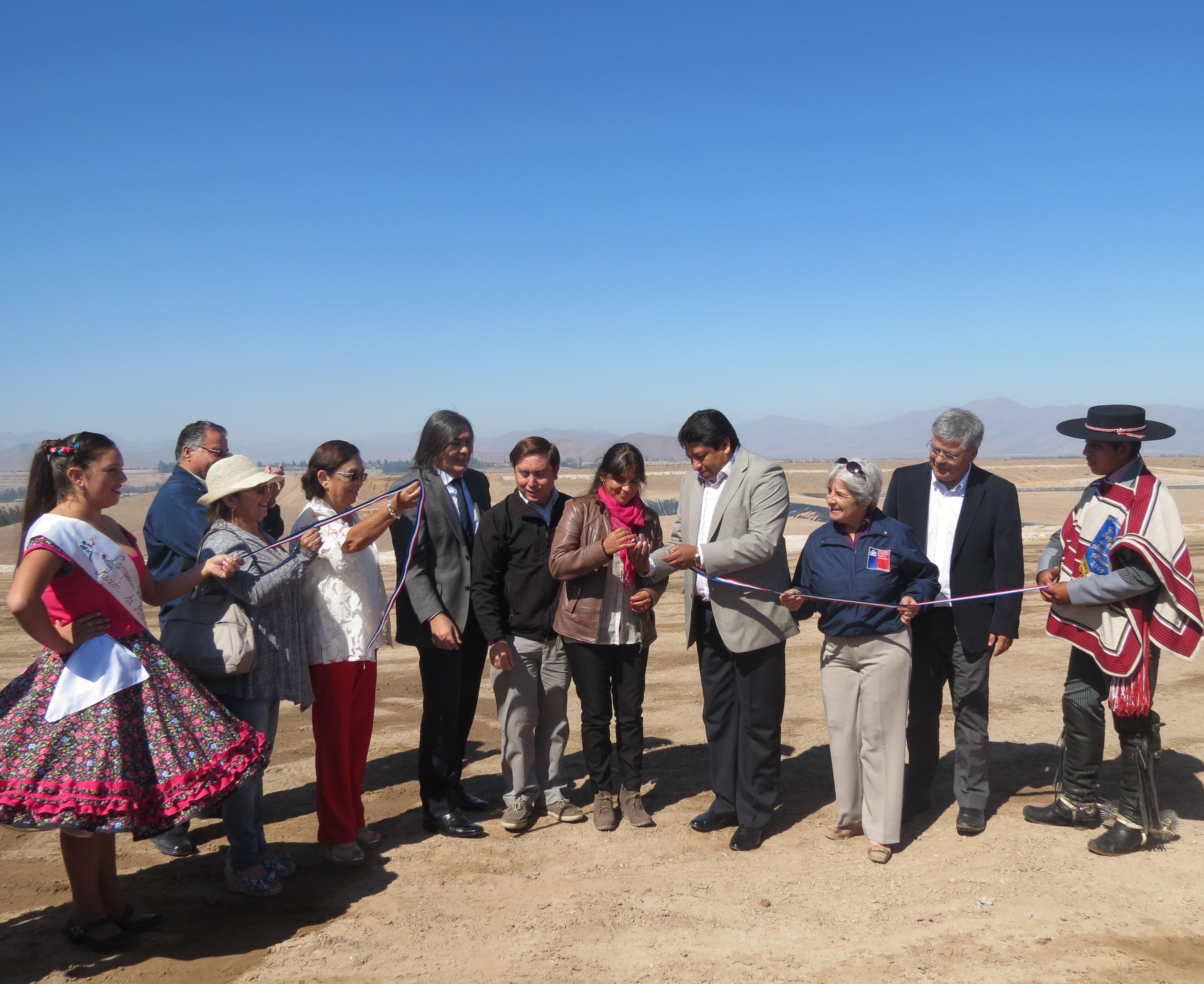 Relleno sanitario del Huasco recibirá diariamente entre 85 y 100 toneladas de residuos domiciliarios