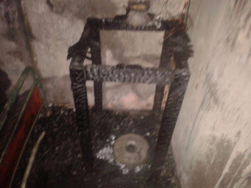 Incendio consume vivienda en calle Coquimbo de Vallenar (imágenes)