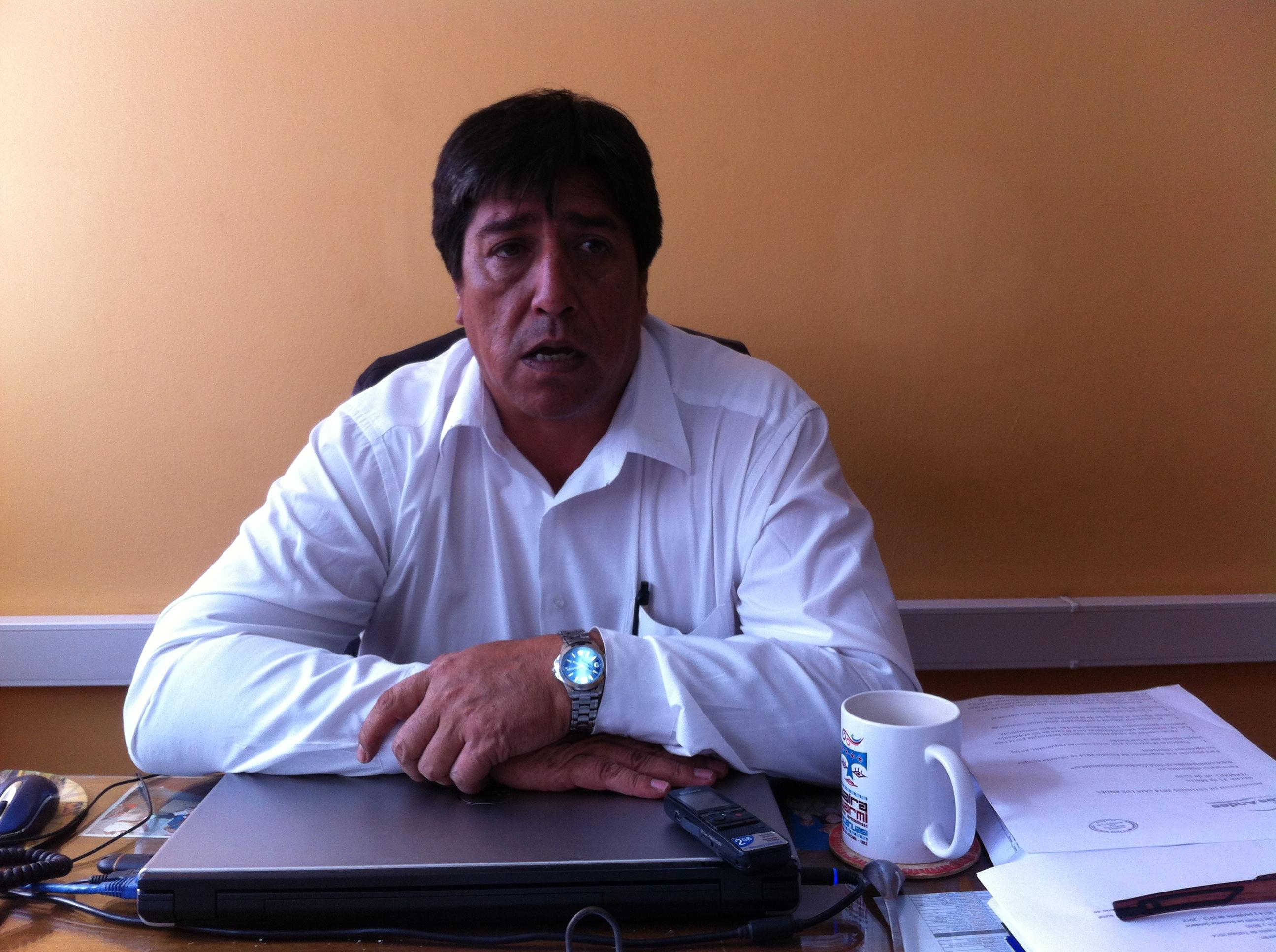 Juan Carlos Morales, Fomento Productivo, municipio de Vallenar