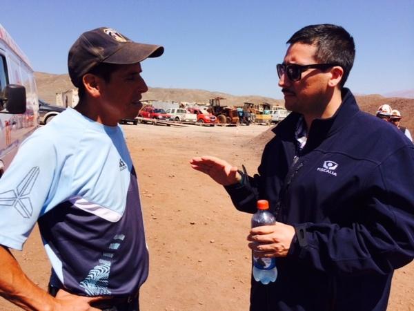 Fiscalía informó del caso a familiares de minero rescatado en Diego de Almagro