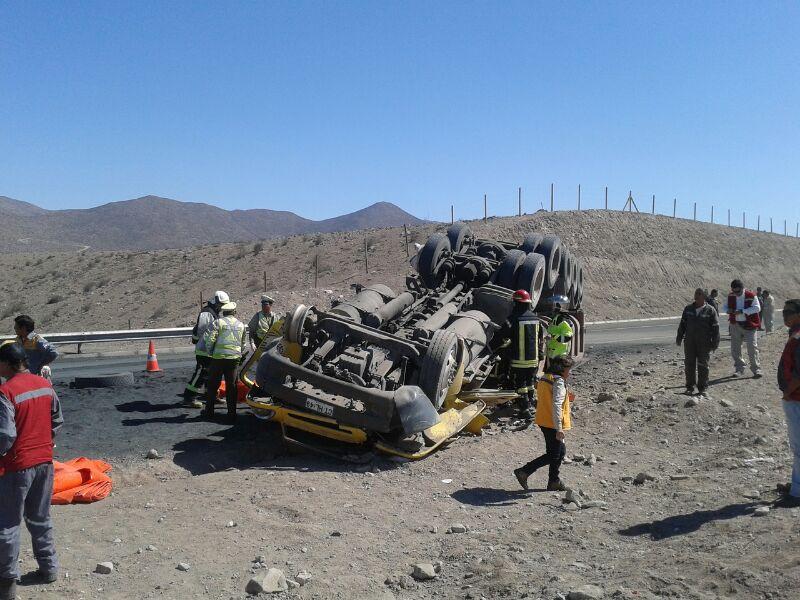 Fatal accidente al norte de Vallenar deja una persona fallecida