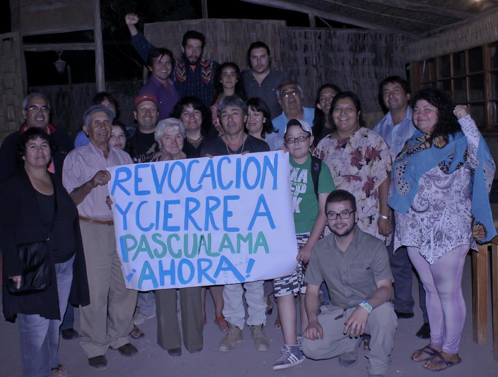 Comunidades del Valle del Huasco rechazan rediseño de Pascua Lama