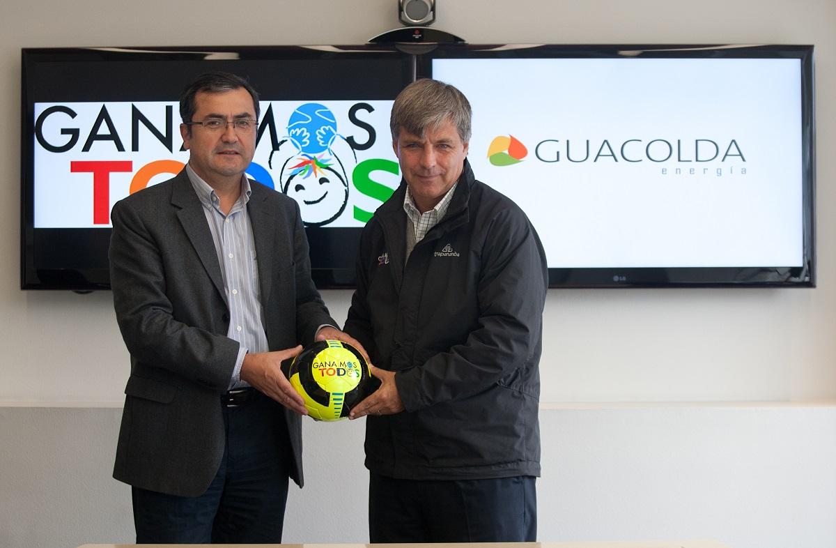 Guacolda Energía renueva convenio con Fundación Ganamos Todos para promover el Fútbol en Huasco