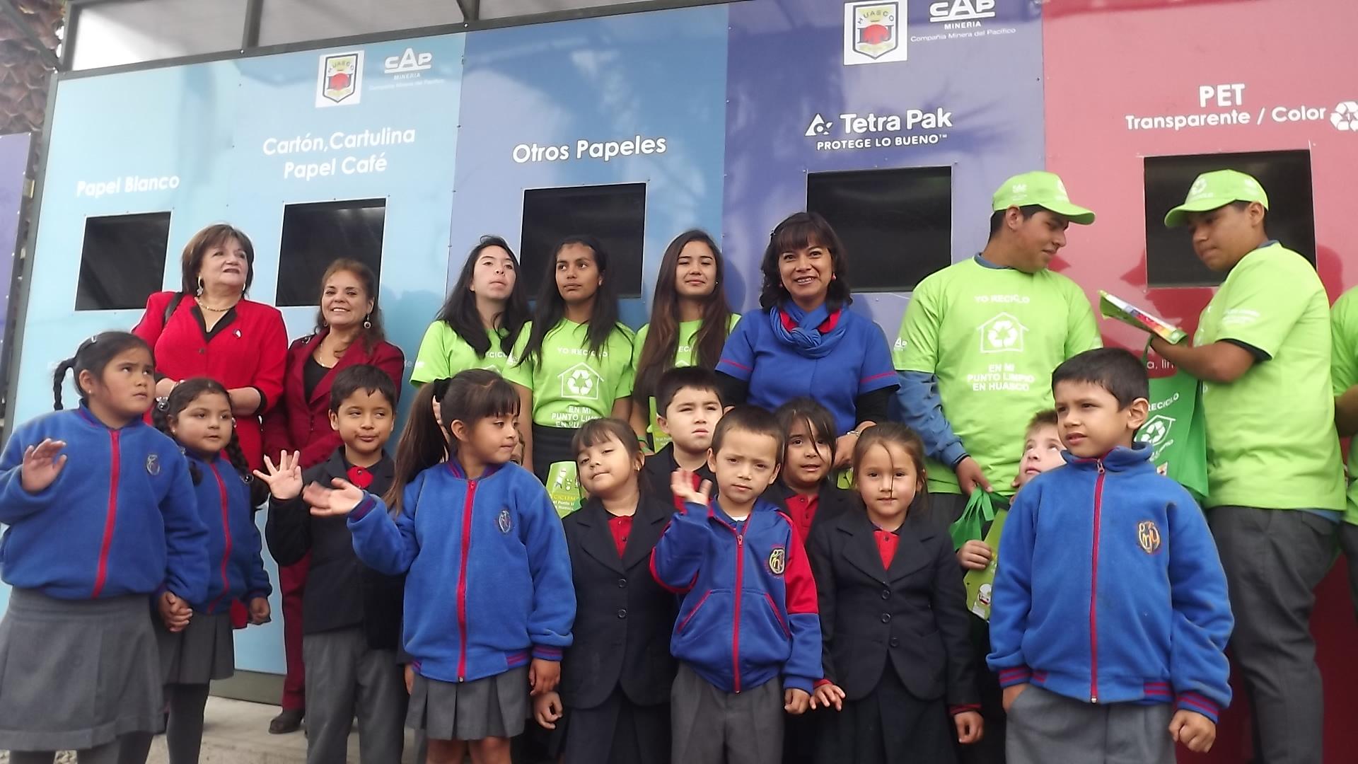 Se inaugura primer  Punto Limpio en Huasco