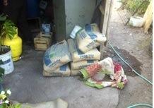 Logran detención de sujeto que robó sacos de cemento en El Tránsito