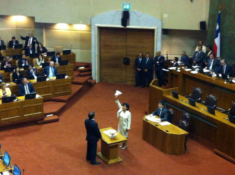 Yasna Provoste asume como diputada por el sexto distrito (Fotos)