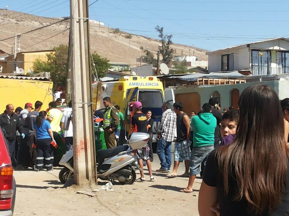 De terror: Accidentes, atropellos y persecuciones policiales en población Torreblanca de Vallenar