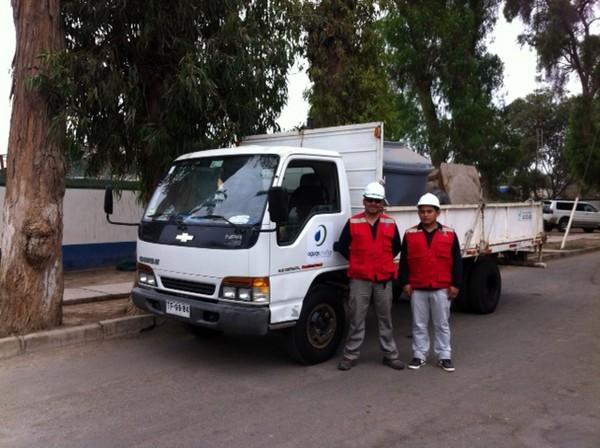Aguas Chañar ejecuta plan preventivo por sistema frontal en la región de Atacama