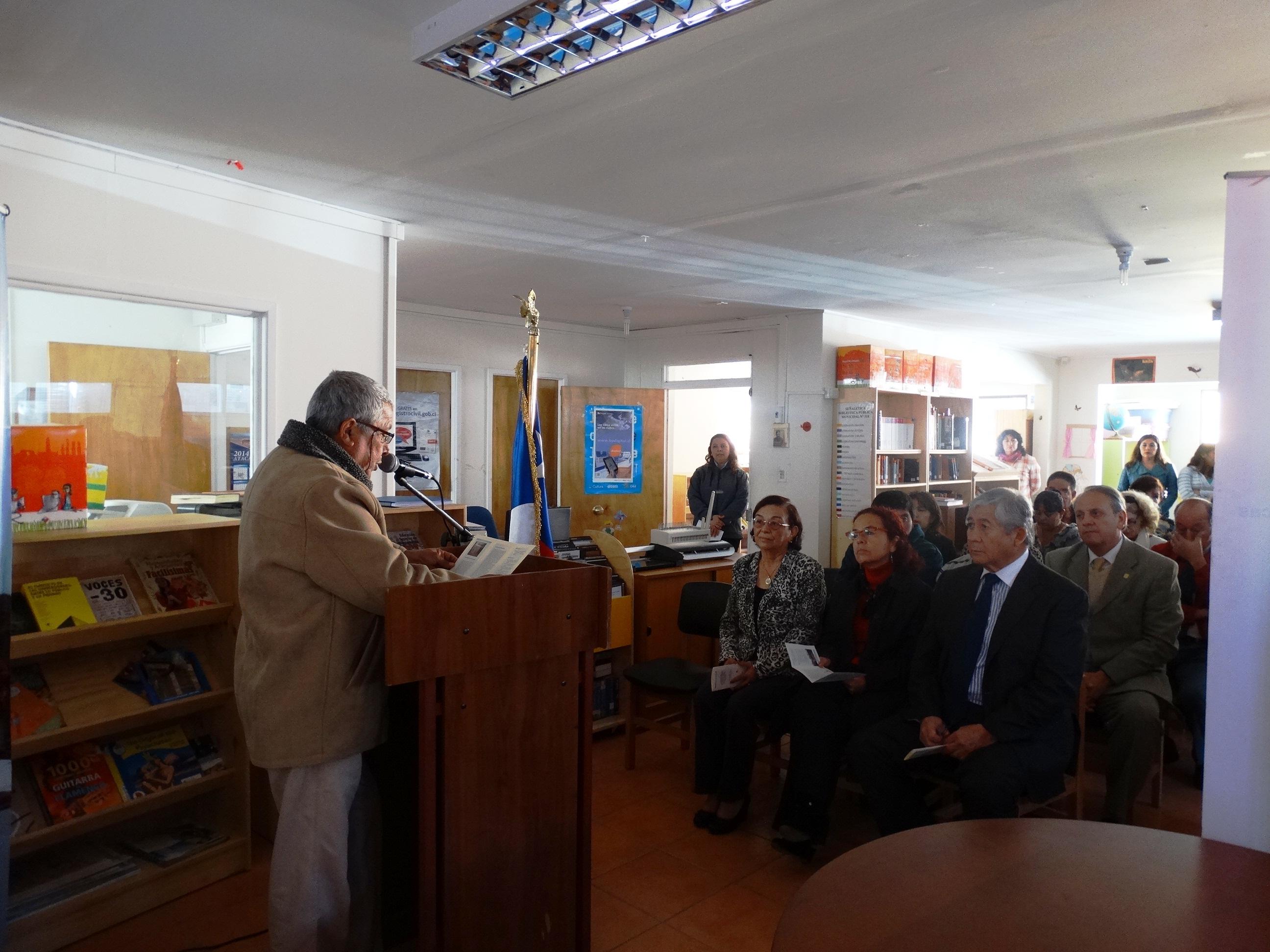 Inauguran nuevo equipamiento para la biblioteca pública de Alto del Carmen
