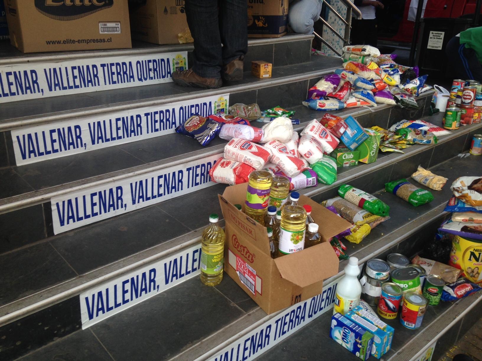 Conozca los lugares para entregar apoyo a Valparaíso en Vallenar