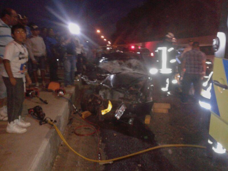 Grave accidente deja lesionado a menor de edad en Vallenar