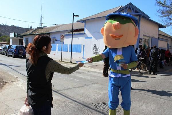 Vallenar celebró el día mundial sin tabaco