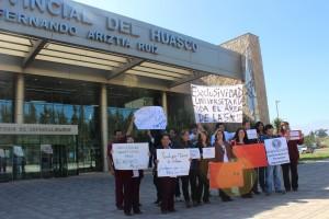 Profesionales HPH reclamo por ley  (1)