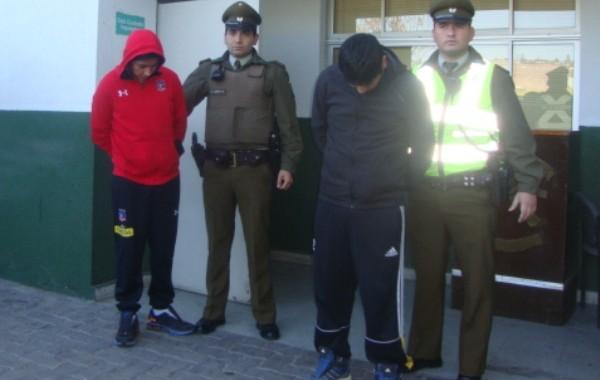 Fiscalía obtuvo prisión preventiva para tres imputados por distintos robos ocurridos en Vallenar