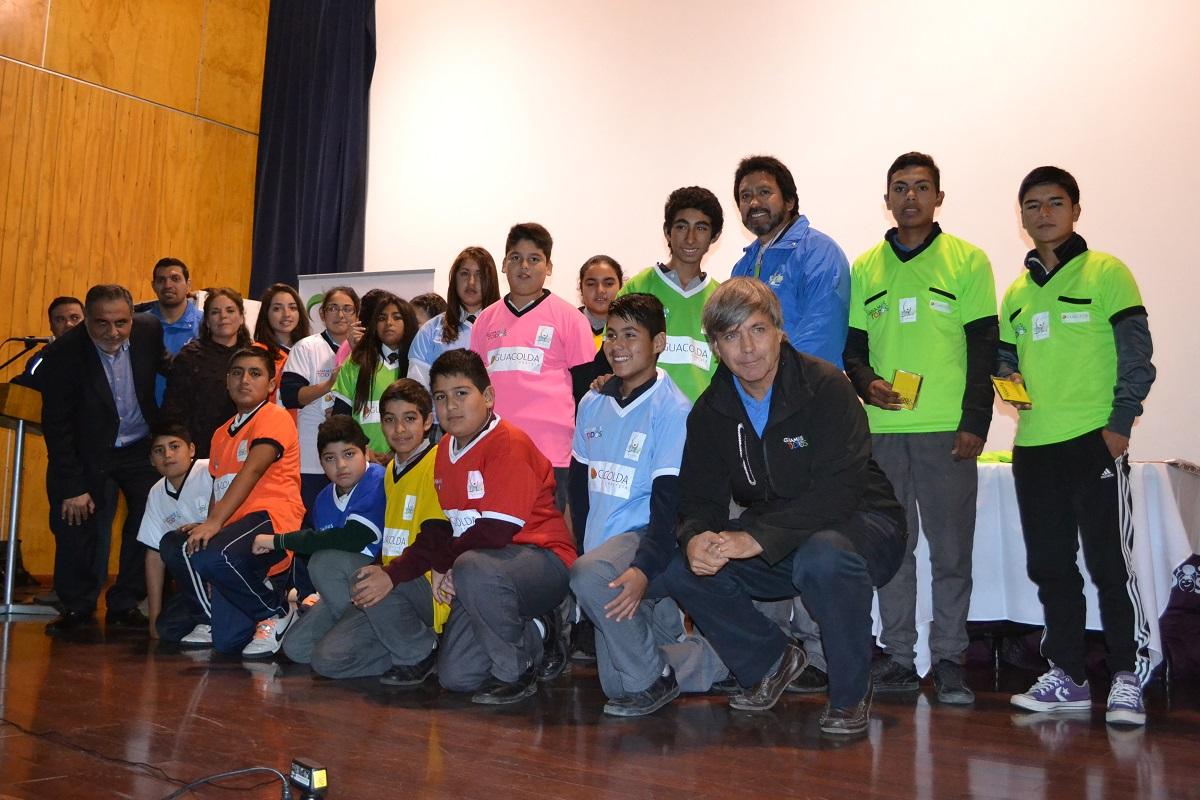 Guacolda lanza en Huasco Liga Escolar de Futsal con estándares FIFA