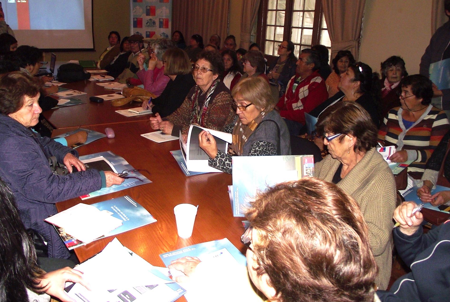 Organizaciones de la Provincia del Huasco alistan proyectos para Fondo de Iniciativas Locales 2014