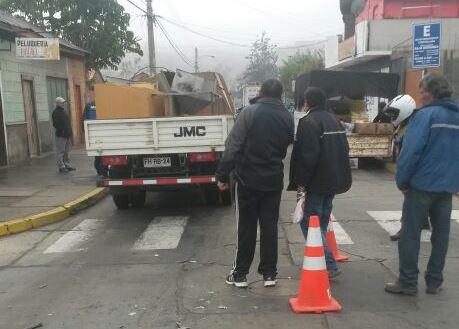 Nuevo accidente en peligrosa esquina deja un lesionado en Vallenar