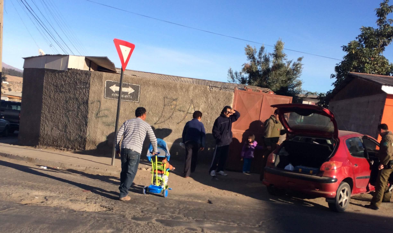 Reportero Ciudadano: Vehículo choca con vivienda en Vallenar