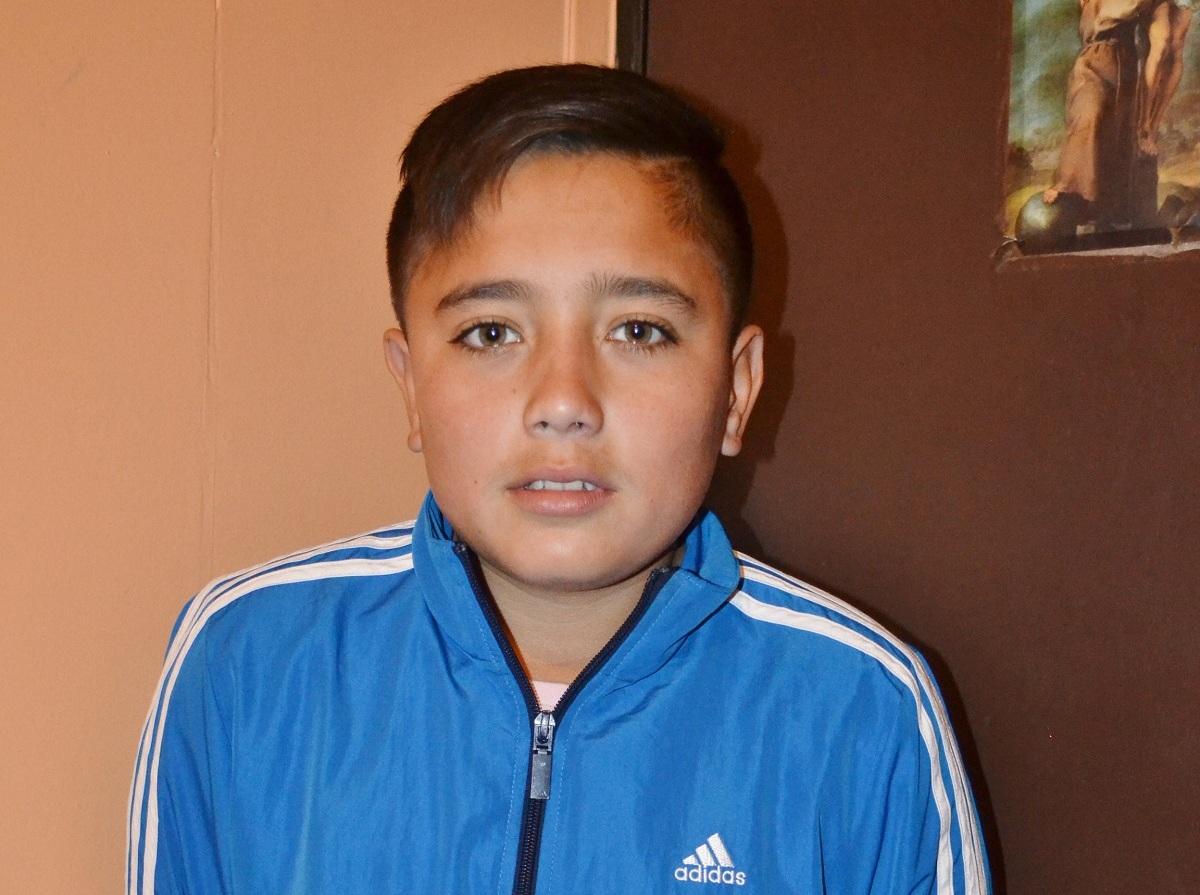 Peque de Huasco que participa en liga de fútbol de Guacolda viaja al mundial
