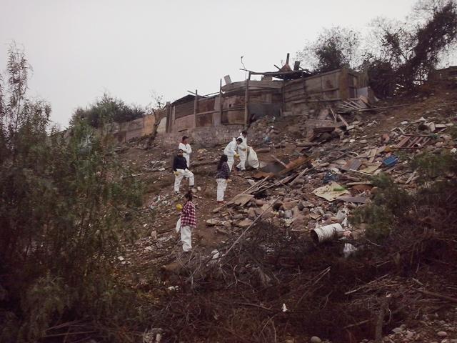 Realizan operativos de limpieza en sectores rurales de Vallenar
