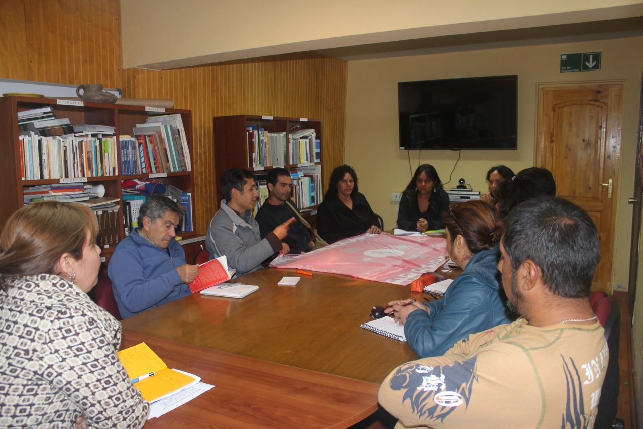 Directora de Cultura se reúne con representantes diaguitas