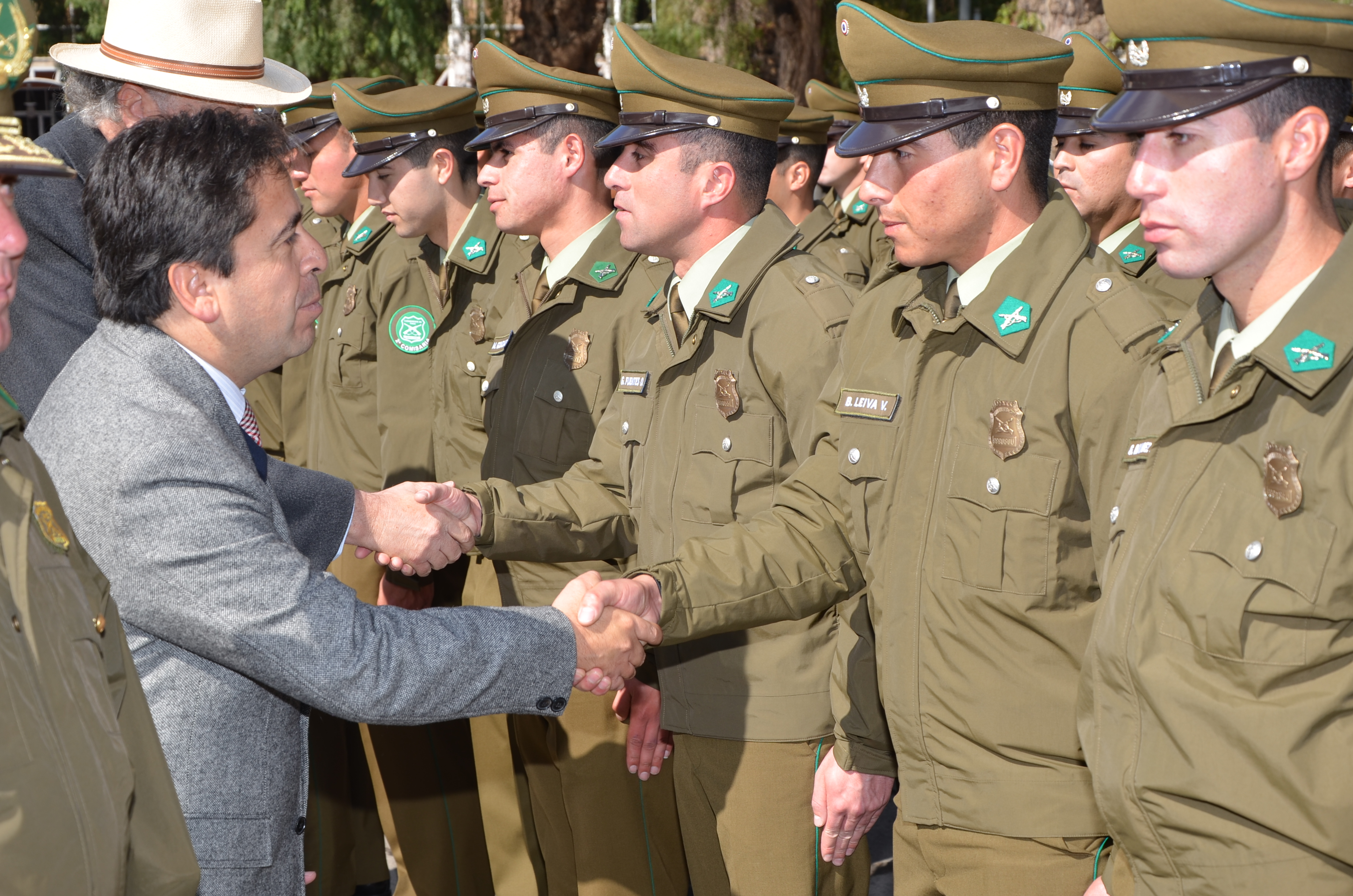 51 nuevos Carabineros y 9 unidades policiales llegan para potenciar trabajo preventivo en Atacama